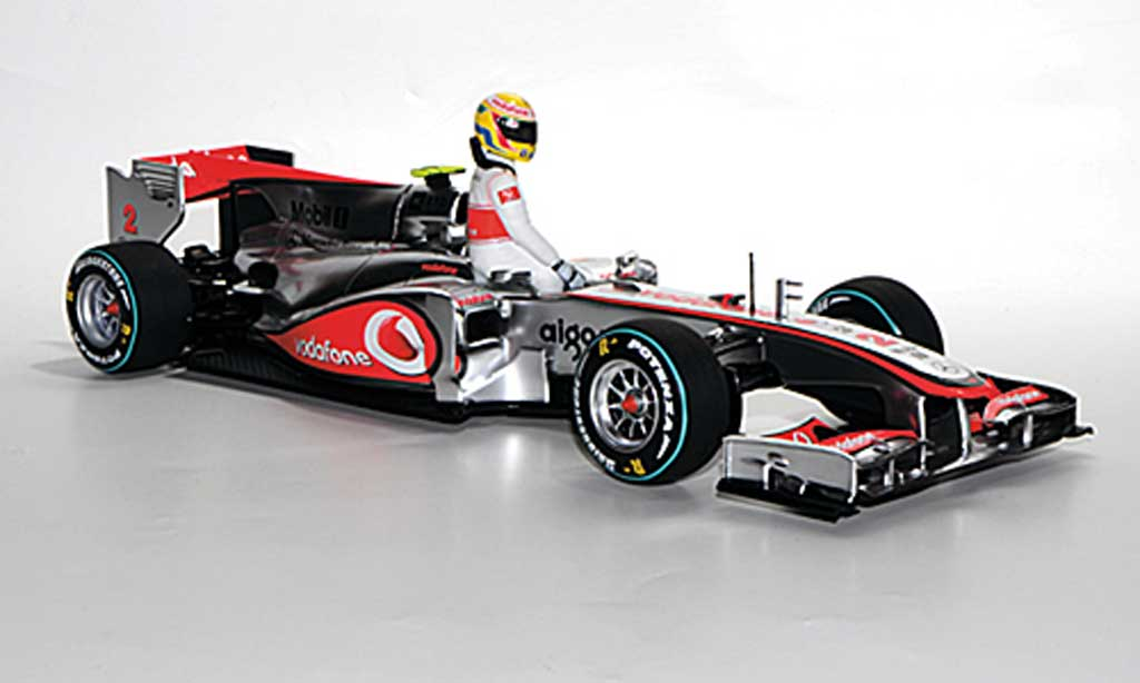 McLaren F1 2010 1/18 Minichamps 2010 Mercedes MP4-25 No.2 L.Hamilton Qualifying GP Kanada miniature