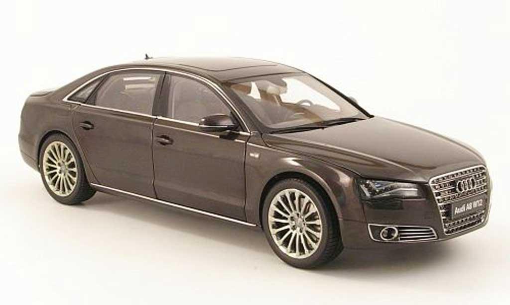 Audi A8 W12 1/18 Kyosho l (d4) grise 2010 miniature