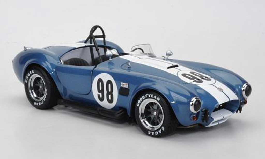 Shelby Ac Cobra 1/18 Kyosho 427 S/C No.98 blue miniature