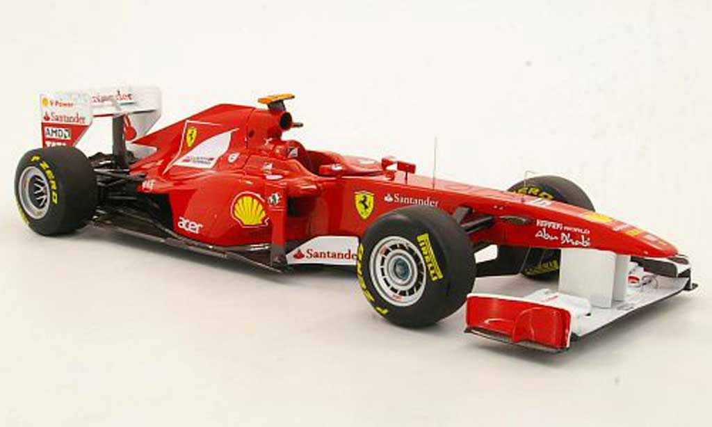 Ferrari F1 1/18 Hot Wheels Elite 150? Italia No.5 F.Alonso GP Turkei (Elite) 2011 miniature