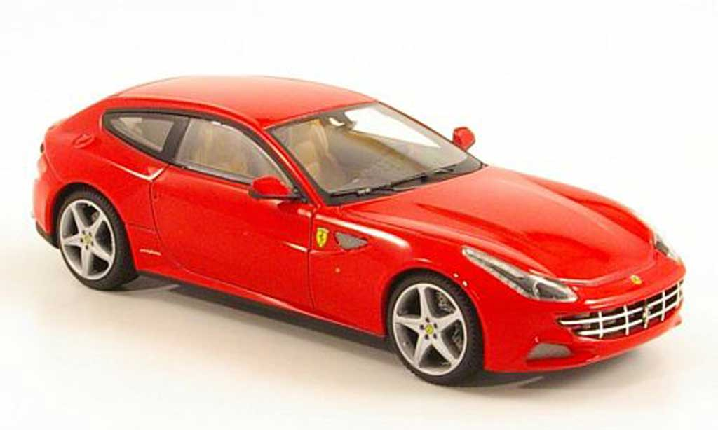 Ferrari FF 1/43 Hot Wheels Elite rosso (Elite) miniatura