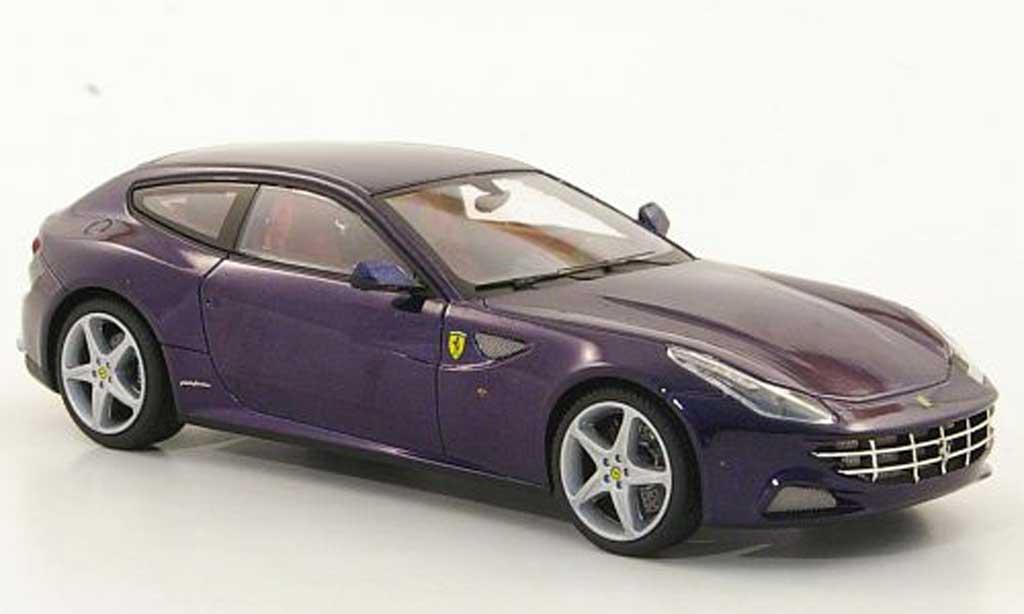 Ferrari FF 1/43 Hot Wheels Elite bleu (Elite) 2011 miniatura