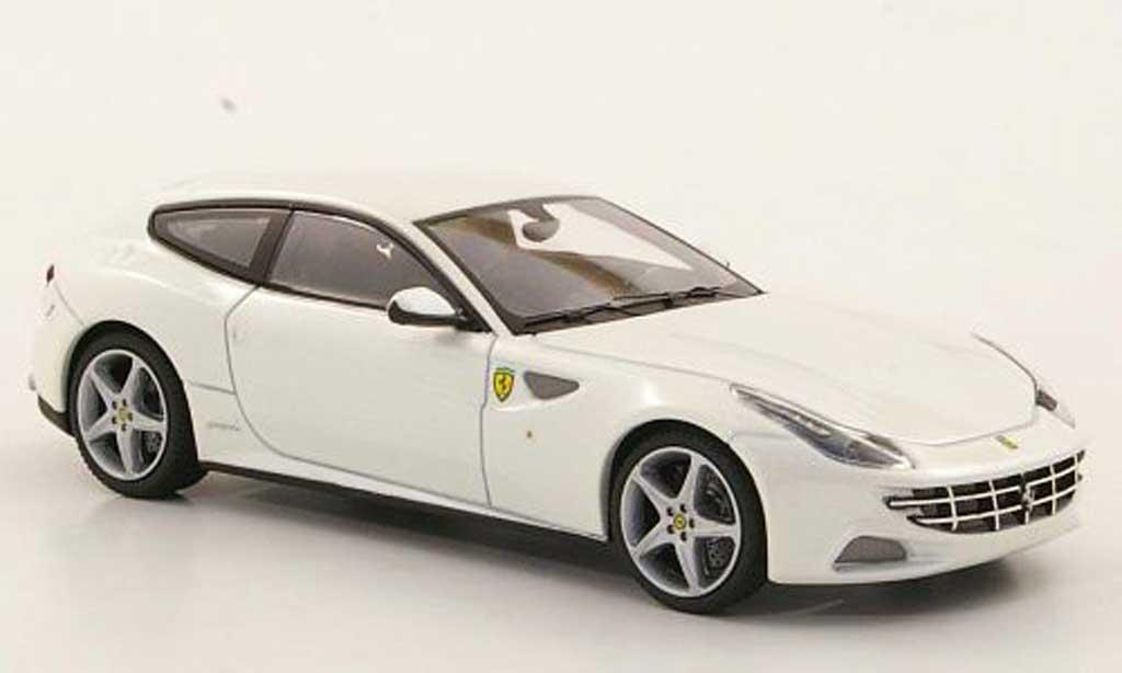 Ferrari FF 1/43 Hot Wheels Elite bianca (Elite) 2011 miniatura