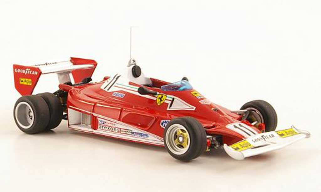 Ferrari 312 T2 1/43 Hot Wheels Elite No.11 Niki Lauda Testfahrzeug (Elite) 1977 miniature