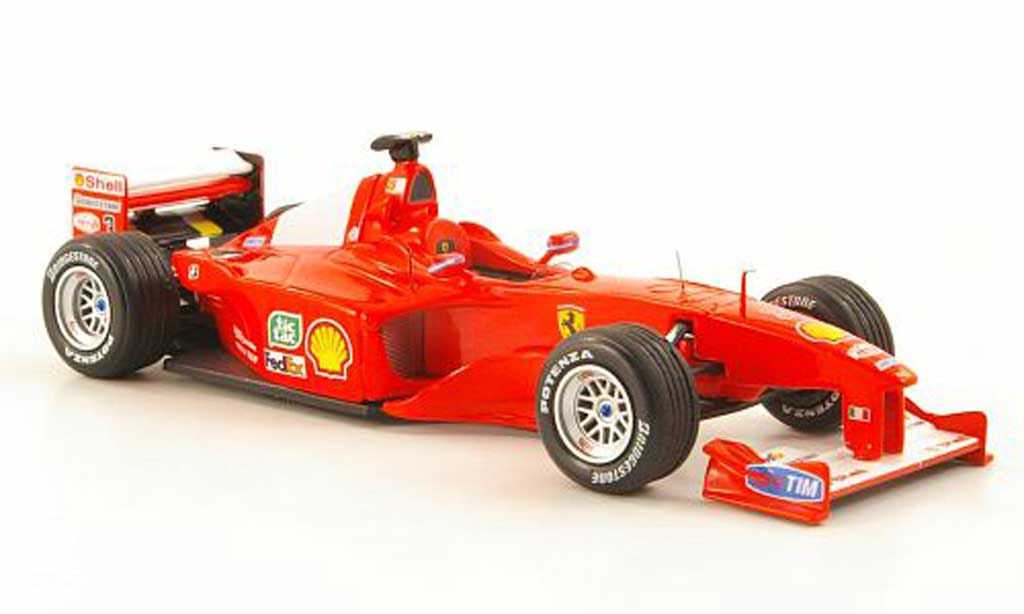 Ferrari F1 2000 1/43 Hot Wheels Elite - No.3 M.Schumacher GP Japan (Elite) miniature