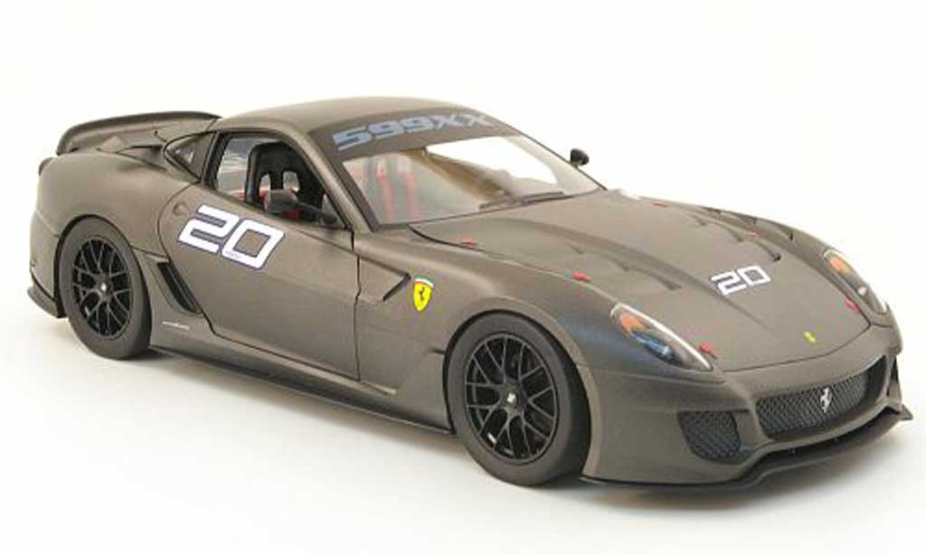 Ferrari 599 XX 1/18 Hot Wheels no.20 diecast model cars