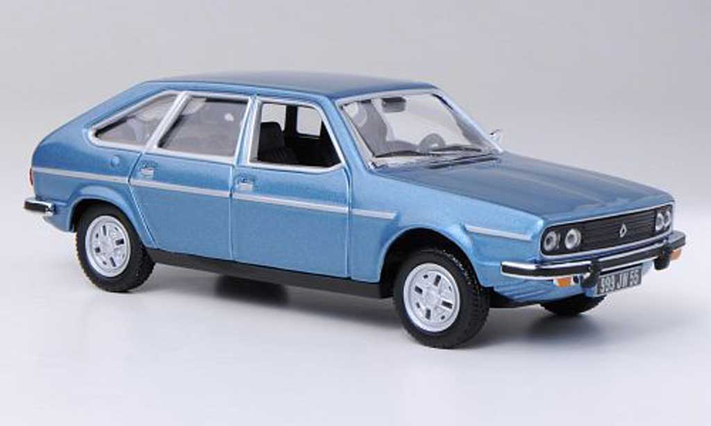 Renault 30 1/43 Norev 30 TS bleu 1978 miniatura