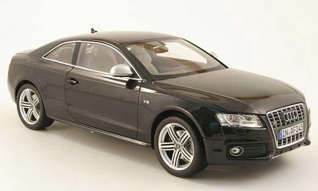 Audi S5 1/18 Norev coupe nero 2010 miniatura