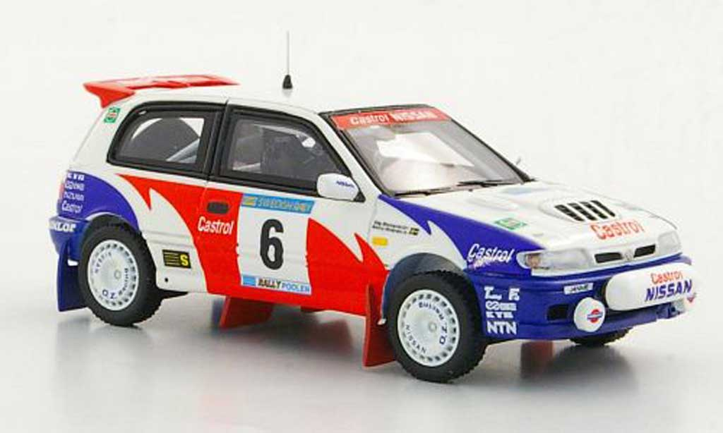 Nissan Pulsar 1/43 Provence Moulage GTI-R No.6 S.Blomqvist / B. Melander Rally Schweden 1992 diecast