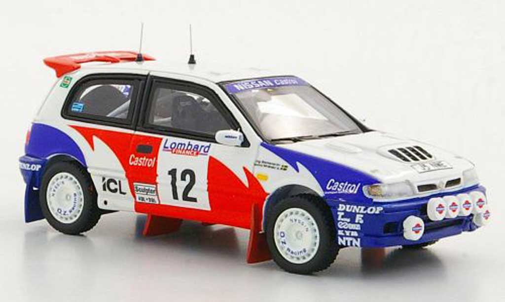 Nissan Pulsar 1/43 Provence Moulage GTI-R No.12 S.Blomqvist / B. Melander RAC Rally 1992 diecast