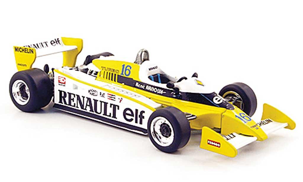 Renault F1 1979 1/43 Norev 11 No.16 elf Dijon miniature