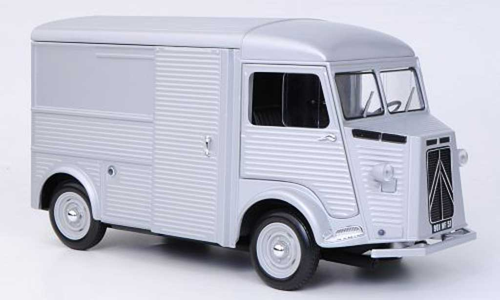 Citroen HY 1/18 Norev grey 1962 diecast model cars