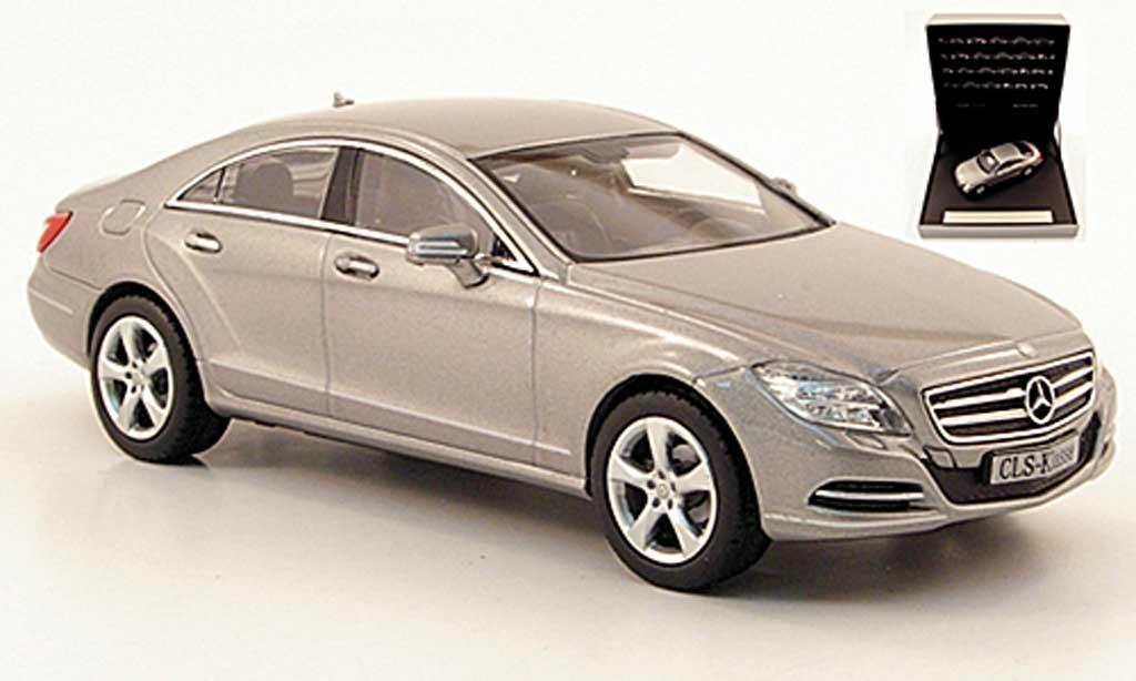 Mercedes Classe CLS 1/43 Norev (C218) grise 2011 miniature