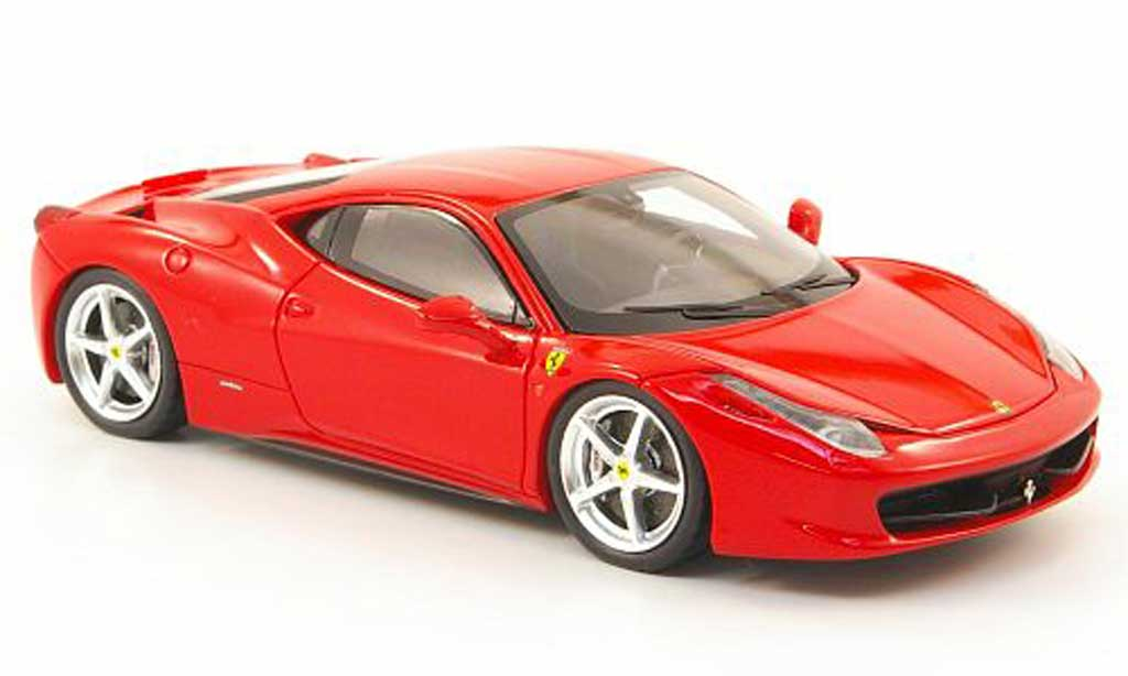 Ferrari 458 Italia 1/43 Fujimi Italia red 2010 diecast model cars