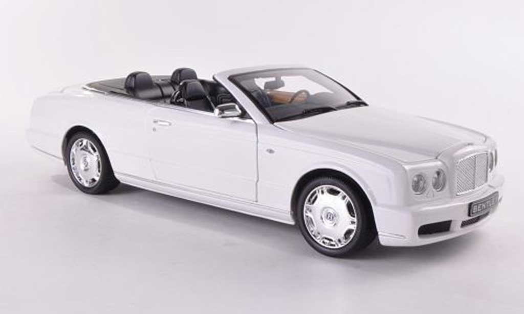 Bentley Azure 1/18 Minichamps blanche LHD 2006 miniature