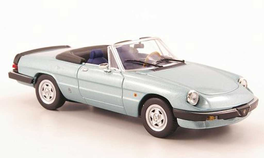 Alfa Romeo Spider 1983 1/43 Minichamps 2.0 grey grun diecast model cars