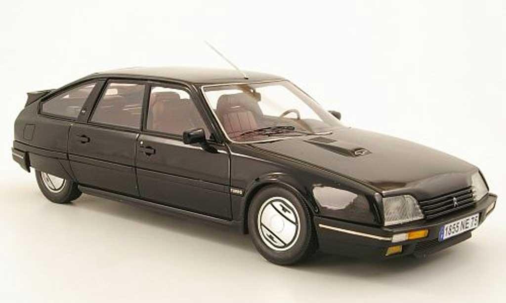 Citroen CX 1/18 Neo GTi Turbo 2 noire 1986 miniature