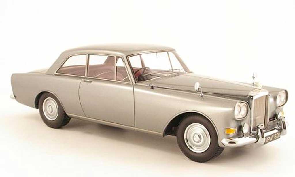 Bentley Continental SIII 1/18 Neo Mulliner Park Ward FHC grise 1963 miniature