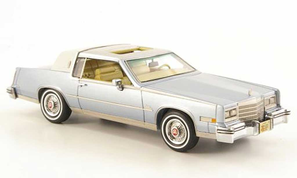 Cadillac Eldorado 1/43 Neo Biarritz grey bleu/grey 1980 diecast model cars