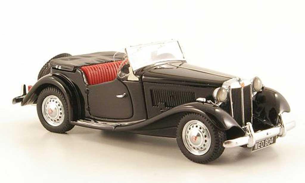 MG TD 1/43 Neo MKII black 1950 diecast model cars