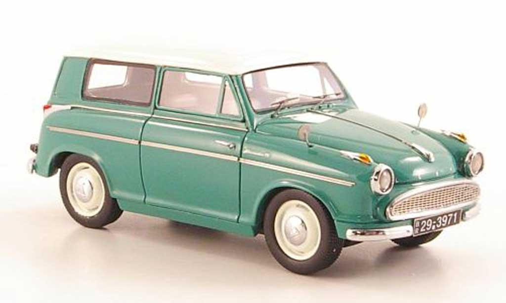 Lloyd Alexander 1/43 Neo Kombi verte/blanche 1958 miniature