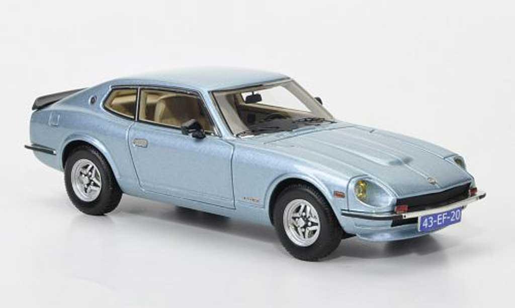 Datsun 260Z 1/43 Neo  2+2 grigia bleu 1975 miniatura