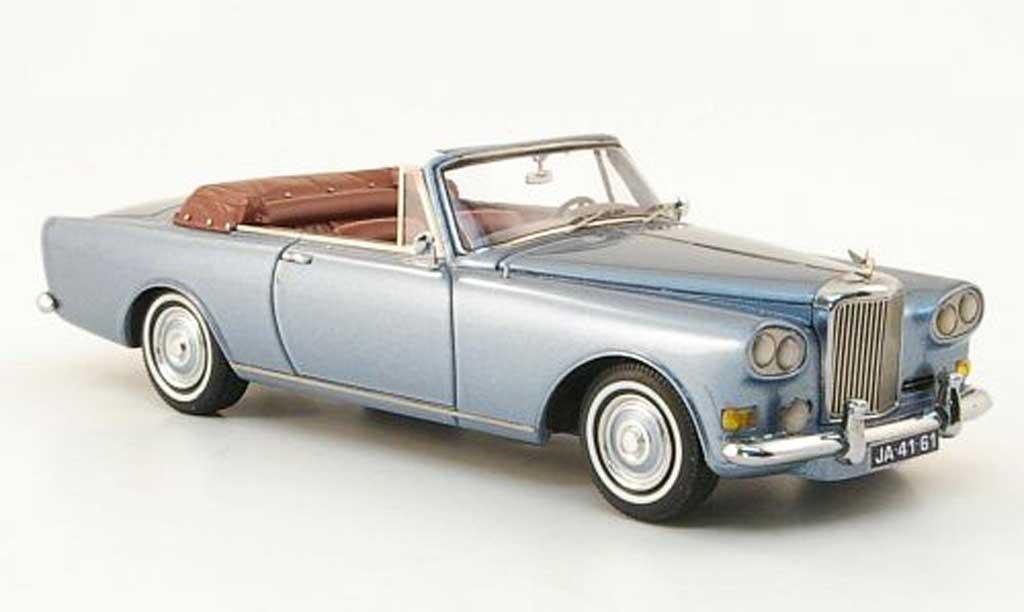 Bentley Continental SIII 1/43 Neo Mulliner Park Ward DHC grey bleu 1963 diecast model cars