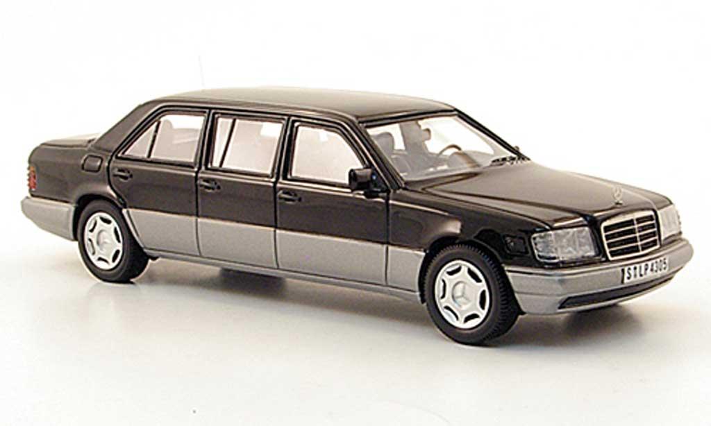 Mercedes 250 1/43 Neo E Diesel (V124) noire W124-Langversion 1990 miniature
