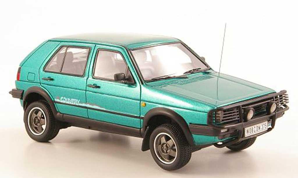 Volkswagen Golf 2 Country 1/43 Neo grun 1990 modellautos