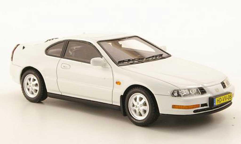 Honda Prelude 1992 1/43 Neo MKIV blanche miniature