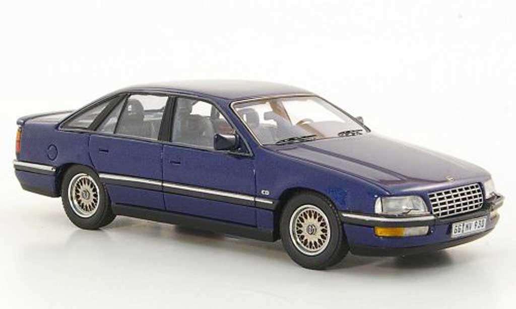 Opel Senator 1/43 Neo B 3.0i 24V bleu 1990 miniature