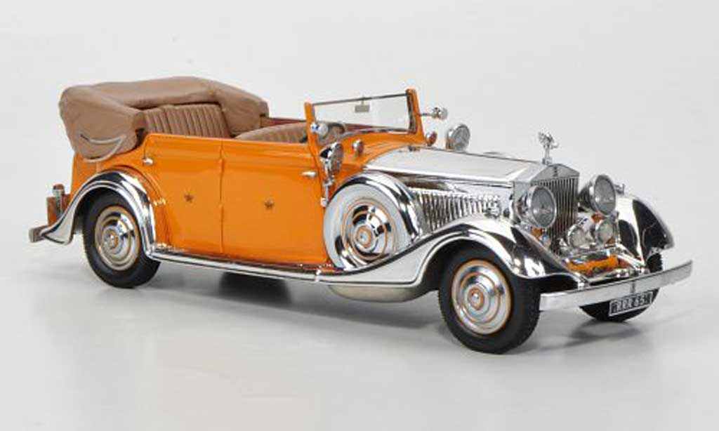 Rolls Royce Phantom 1934 1/43 Neo II Thrupp & Maberly ''Star of India'' miniature