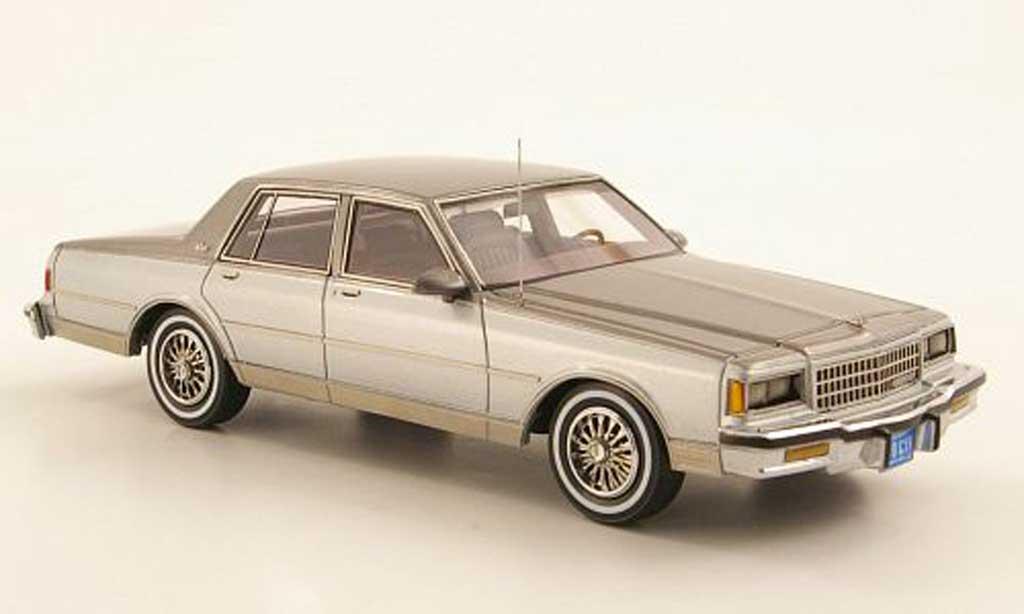 Chevrolet Caprice Classic 1/43 Neo grise/grise 1985 miniature