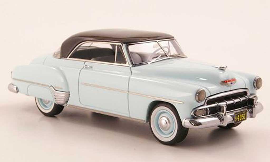 Chevrolet De Luxe 1/43 Neo Styleline Hardtop Coupe bleu/grise 1952 miniature