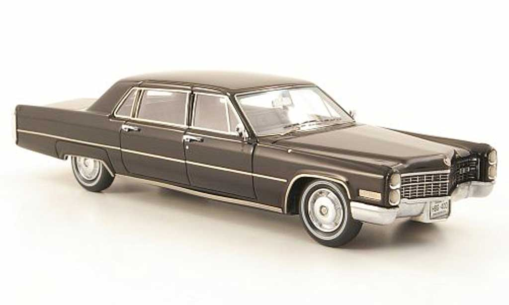 Cadillac Fleetwood 1966 1/43 Neo 75 noire miniature