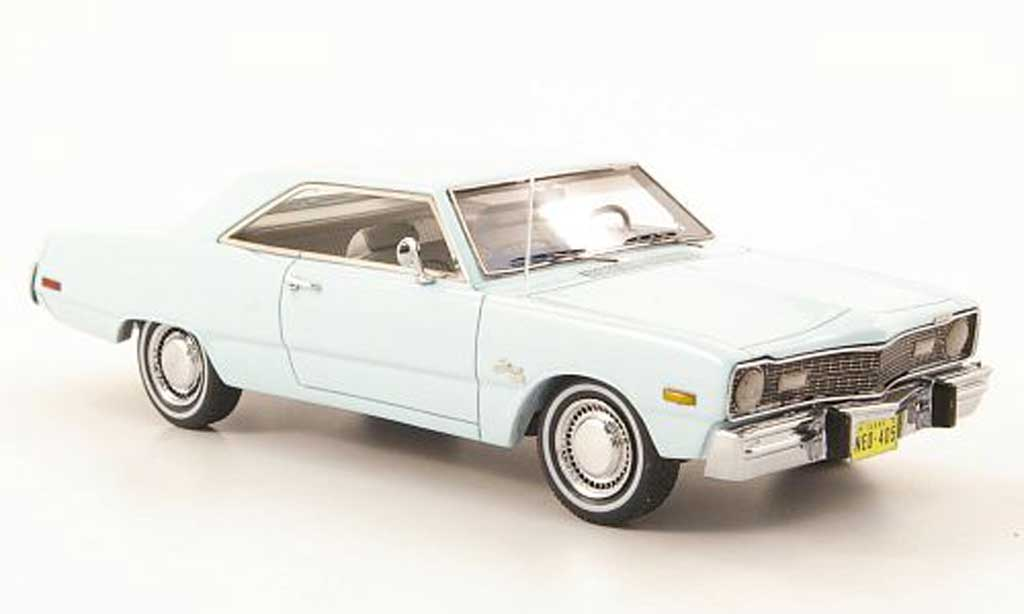 Dodge Dart 1973 1/43 Neo Swinger bleu diecast model cars