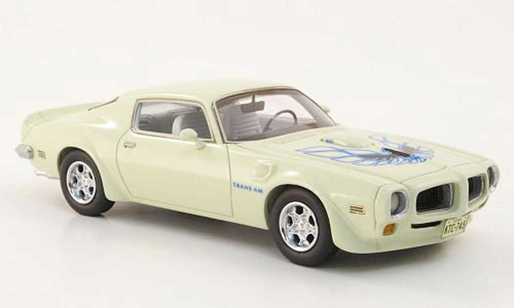 Pontiac Trans Am 1/43 Neo Firebird blanche 1972 miniature