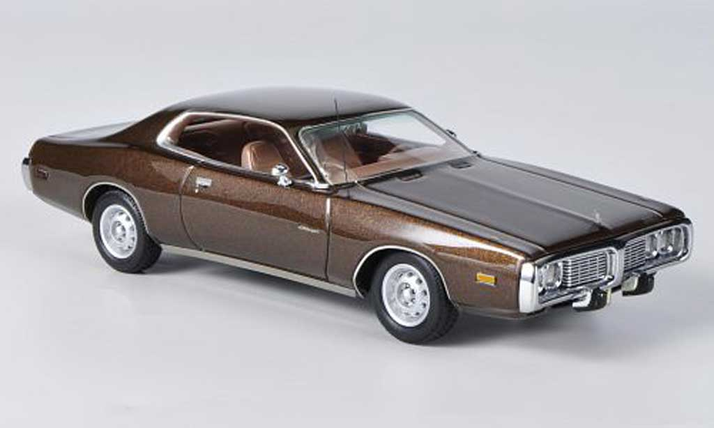 Dodge Charger 1973 1/43 Neo marron
