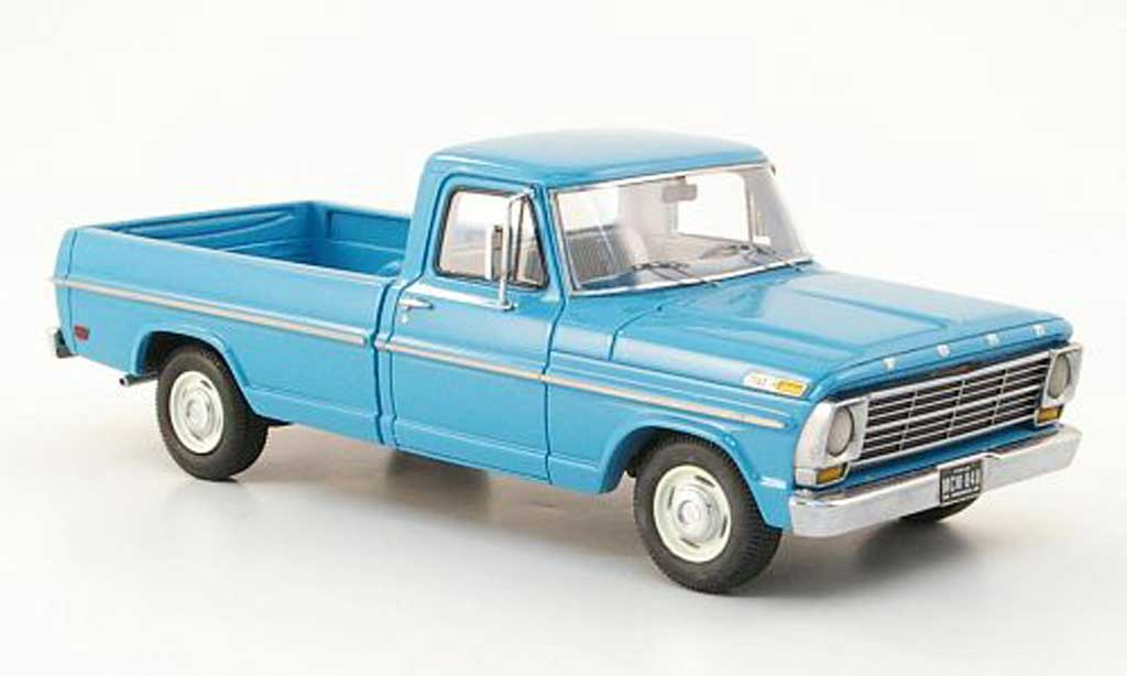 Ford F 100 1/43 American Excellence turquoise limited edition 1968 miniature