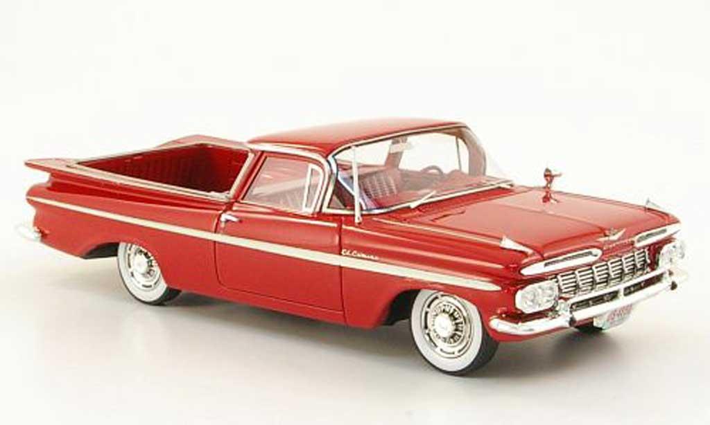 Chevrolet El Camino 1/43 Neo rouge 1959 miniature