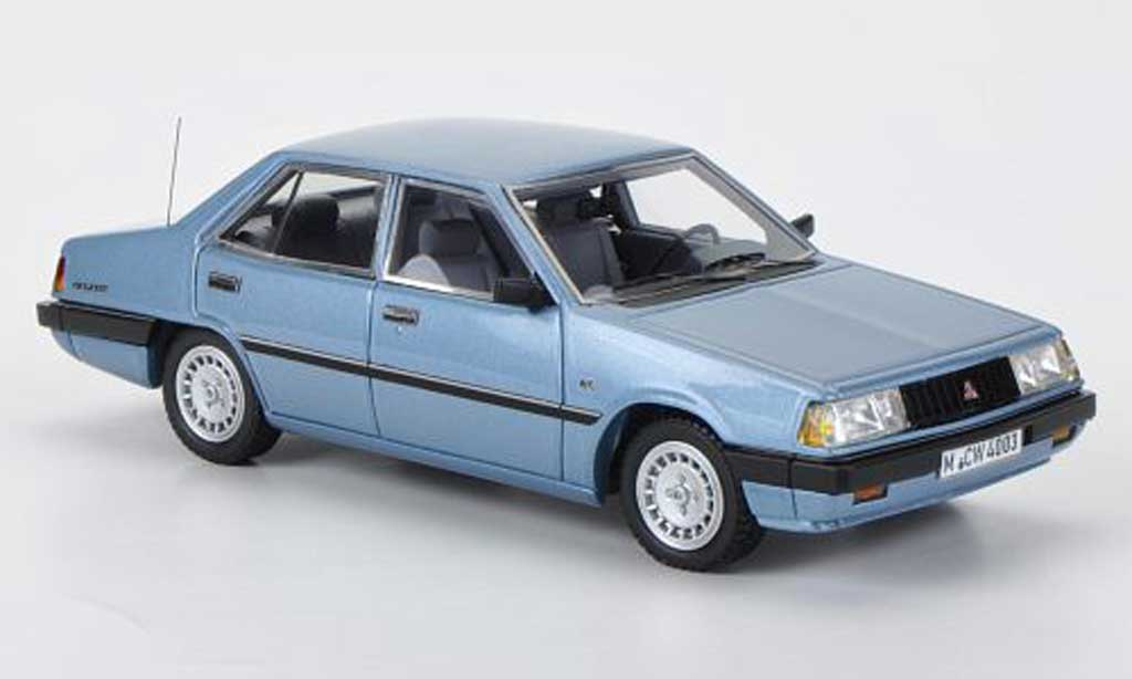 Mitsubishi Galant 2000 GLX 1/43 Neo (A160) bleu limited edition 1981 miniature