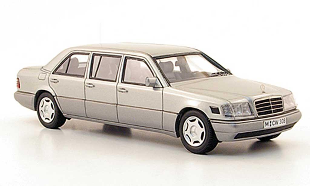 Mercedes 250 1/43 Neo E250 Die(V124) grise  W124-Langversion lim. Auf. 300 1990 miniature