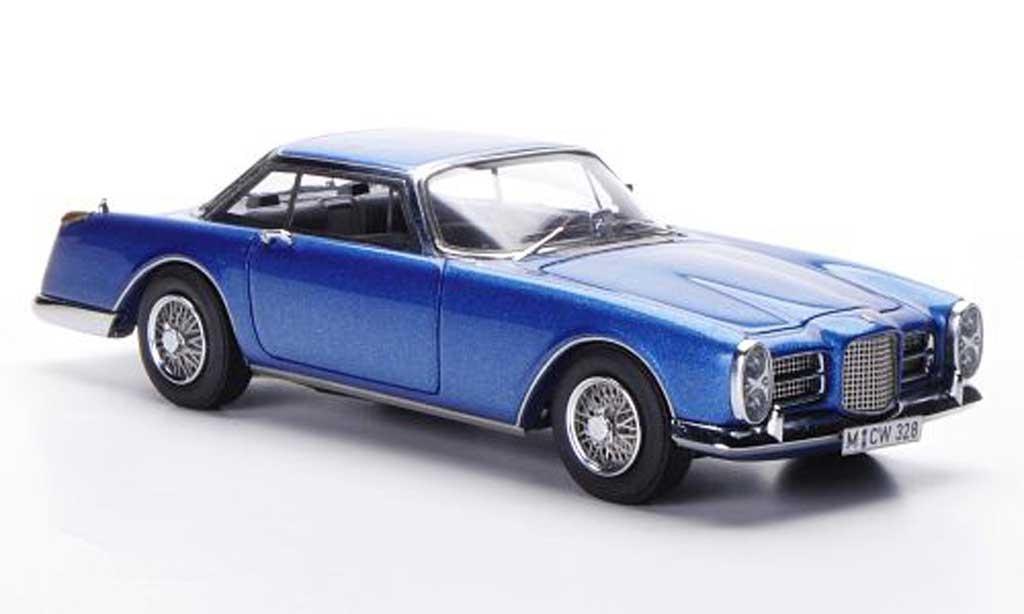 Facel Vega II 1963 1/43 Neo 1963 bleu miniature