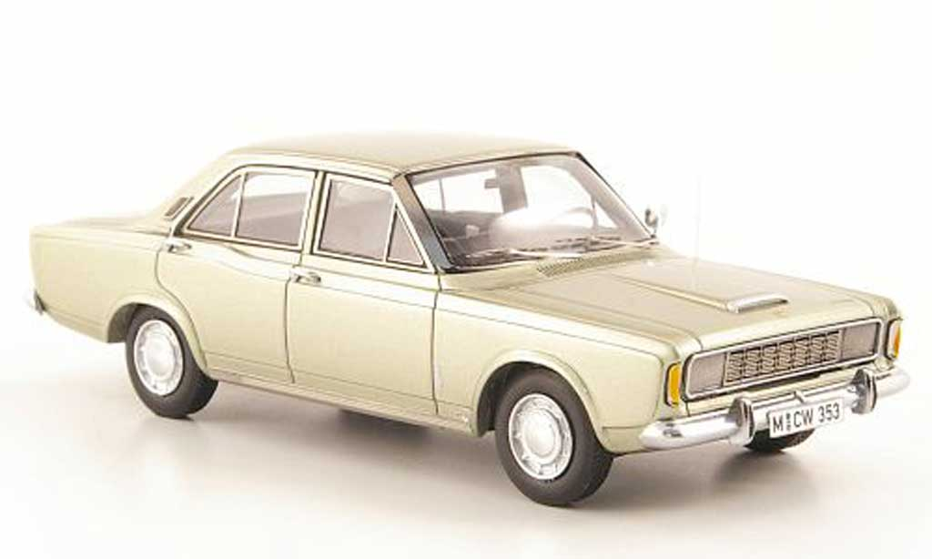 Ford Taunus 1968 1/43 Neo (P7a) 20M gold limited edition miniature