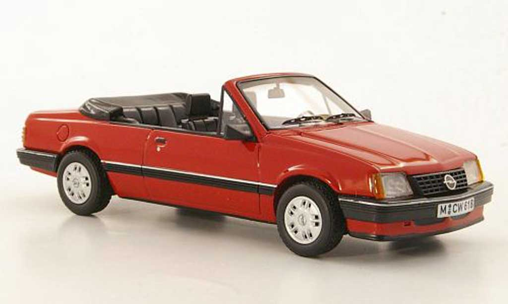 Opel Ascona C 1/43 Neo Cabriolet rouge limited edition 1984 miniature