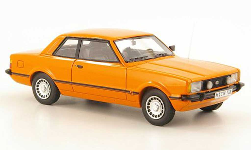 Ford Taunus 1976 1/43 Neo TC2 2.3 S orange limited edition miniature
