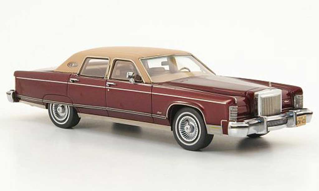Lincoln Continental 1977 1/43 American Excellence red/marron lim. Aufl. 500 diecast model cars