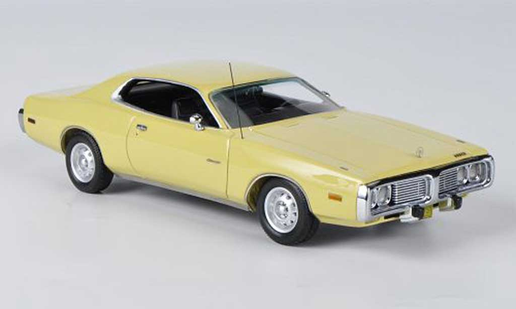 Dodge Charger 1973 1/43 American Excellence Charger yellow diecast