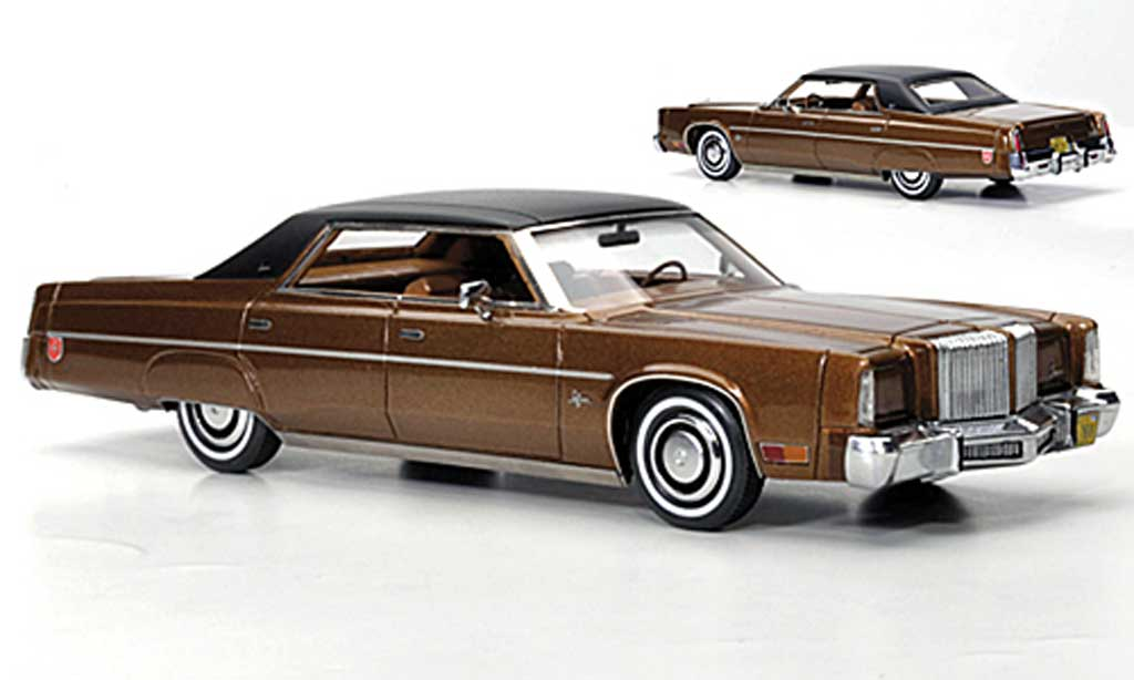 Chrysler Imperial 1/43 American Excellence marron/noire limited edition 1975 miniature