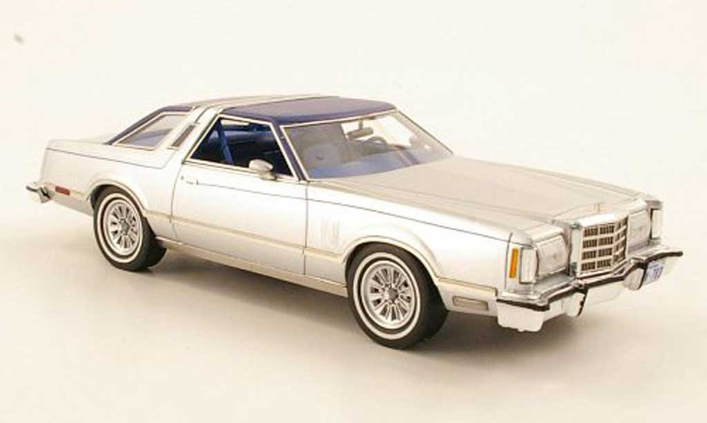Ford Thunderbird 1979 1/43 American Excellence grise /bleu limited edition miniature